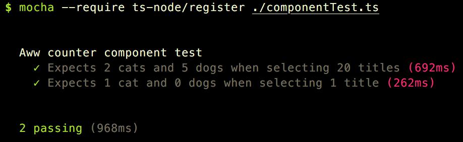 sample script /r/aww counter 2